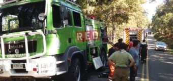Comandancia descarta falla humana en panne de moderno carro forestal recién llegado a la comuna
