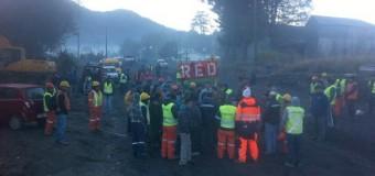Nueva toma | Al menos un centenar de personas se movilizan en Neltume