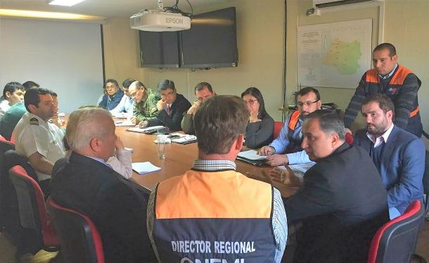 Comité de Operaciones de Emergencia | Sesionando en Valdivia