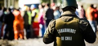 """6 Carabineros activos fueron formalizados por """"apremios ilegítimos y vejámenes"""" por incidentes del 2016 en Neltume"""