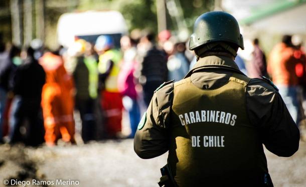 Fuerzas Especiales durante la toma en Neltume   Diego Ramos