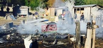Incendio en Liquiñe Alto dejó dos damnificados