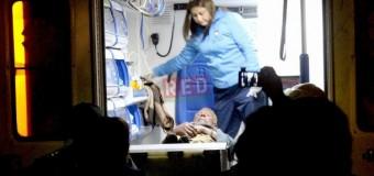 Heroica acción de bomberos al salvar la vida de un hombre mayor durante siniestro
