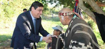 Ministro de Bienes Nacionales devuelve Cementerio a 6 Comunidades Mapuche de Calafquén