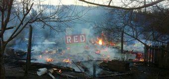Incendio en Rinconada de Tránguil dejó dos damnificados