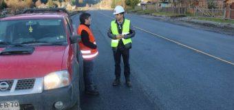 MOP cifra en 40% estado de avance obras en ruta Internacional Hua Hum
