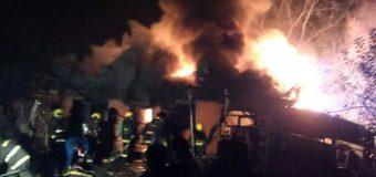 Incendio en una vivienda dejó 7 afectados en la ciudad