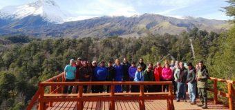 Visita a Reserva N. Mocho Choshuenco buscó asociatividad entre empresarios y promoción turística