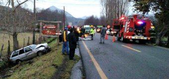 3 lesionados tras accidente de tránsito en sector Puente Pucura