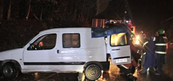 Accidente de produjo en cruce Aransasti – Ancacomoe