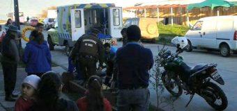 Funcionario de Carabineros sufrió accidente durante procedimiento policial en la ciudad