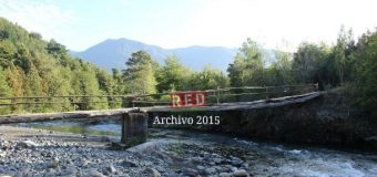 Municipio construye pasarela peatonal sobre Río Llancahue, hacia sector Culán