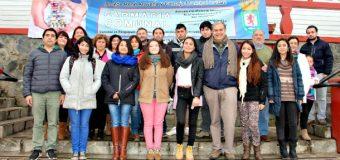 Gestionan clases de canto para 10 jóvenes panguipullenses en Academia de Luis Jara