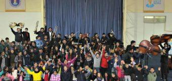 Campamentos de Invierno | Junaeb inició proyecto con Magistral concierto en PHP Pullinque