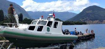 Destinan Lancha Policial a Pueblo de Pirehueico