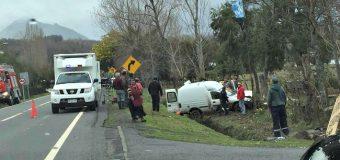 Conductor resultó con lesiones tras accidente en Pucura