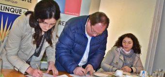 INIA firmó convenio de colaboración con Liceo PHP de Pullinque