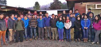40 alumnos del Liceo PHP Pullinque salieron de viaje gracias a Gira de Estudios Sernatur