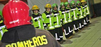 1a Cía Panguipulli adquiere trajes y capacita a voluntarios en rescate