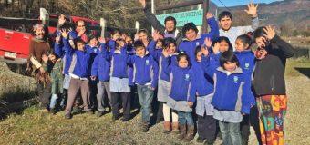 Buscan fortalecer valoración del bosque en estudiantes de Panguipulli, Liquiñe y Coñaripe