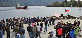 Habitantes de Pirehueico volvieron a manifestarse exigiendo a Gobierno cumplir compromisos