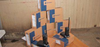 Voluntarios del Cuerpo de Bomberos Panguipulli recibieron nuevos equipos de comunicación