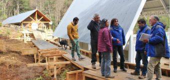 Argentina dispone módulos y ambos países se alistan para reabrir Carirriñe