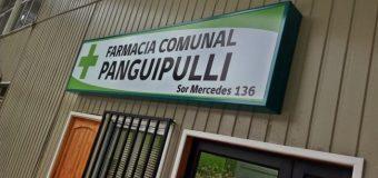 """Farmacia """"comunal"""" de Panguipulli ofrece hasta un 86% de rebaja en medicamentos"""