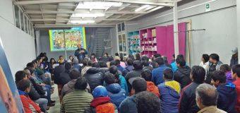 René Aravena se reunió con dirigentes y deportistas de la comuna
