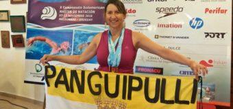 La nadadora local Cecilia Mella consiguió segunda posición en sudamericano de Uruguay