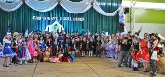 Colorido Concurso folclórico se realizó en el Liceo PHP de Pullinque