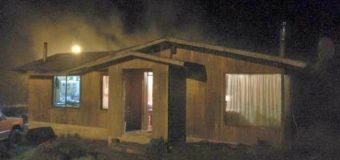 Controlan a tiempo principio de incendio en vivienda de Neltume