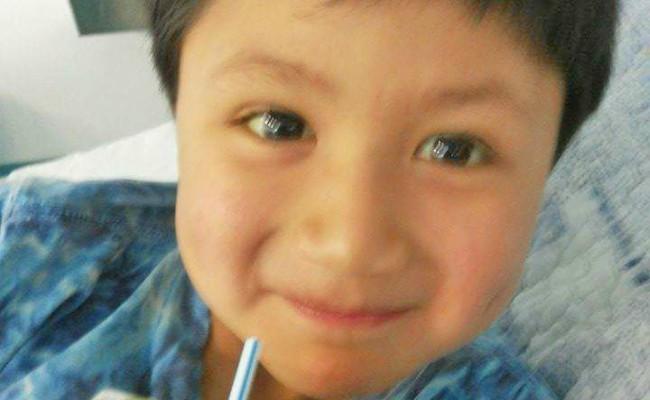 Benjamín Mira Vera (5 años)