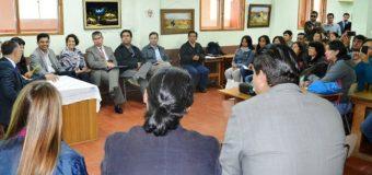 Gobierno Regional firmó acuerdos con vecinos de Pucura