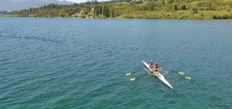 Se ultiman detalles para Regata Internacional de Remo C.E. San Sebastián en Lago Panguipulli