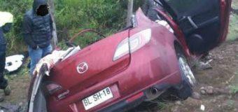 Violento accidente cobró la vida de 3 personas en ruta T-39 Los Lagos-Panguipulli
