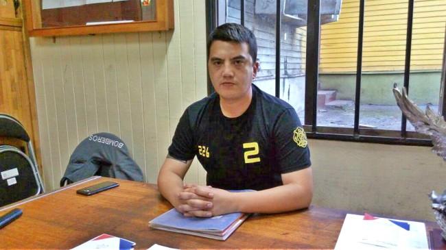 Rodolgo Zúñiga fue electo nuevo Comandante del Cuerpo de Bomberos Panguipulli