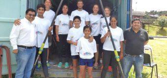 Compañía de cable Mundo Pacífico entregó regalo navideño a niños del Club Remo Panguipulli