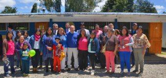 Destinarán más de $179 Millones para reponer Escuela Rural de Huitag