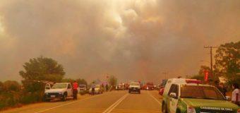 """Impactante relato: Bomberos de Panguipulli son enviados a Empedrado. """"La mitad del pueblo se quemó"""""""
