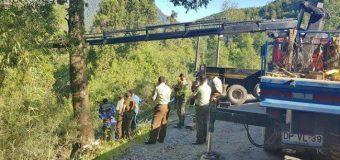 Dan a conocer fuertes imágenes del estado en que quedó patrulla en que murieron Carabineros de Liquiñe