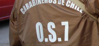 Pasó en Linares: Carabinero de Pirehueico queda en prisión preventiva por tráfico de cocaína