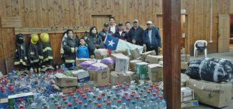 Llevan ayuda de Neltume, Choshuenco y Puerto Fuy a pueblo de Santa Olga