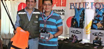 """1.770 Kgs. pesó el Champion en el """"Campeonato de Pesca Semana las Rosas"""" que reunió a 36 participantes"""