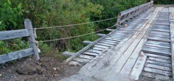 Vehículo cayó por un puente en las cercanías de Choshuenco dejando 4 lesionados