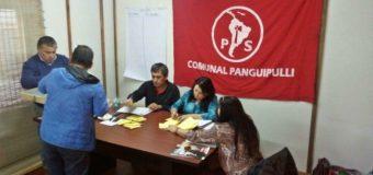 Militantes del PS eligieron nueva directiva comunal