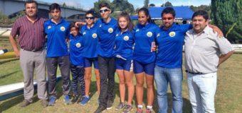 Remeros de Panguipulli se trajeron 4 medallas en la primera fecha del regional de escuelas