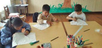 Con 5 alumnos y un oyente inició el año escolar en Pirehueico
