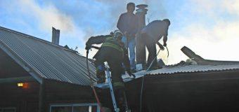 Controlan a tiempo principio de incendio en Ancacomoe. Segunda alarma en pocas horas