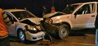 8 lesionados tras colisión en ruta Panguipulli – Los Lagos